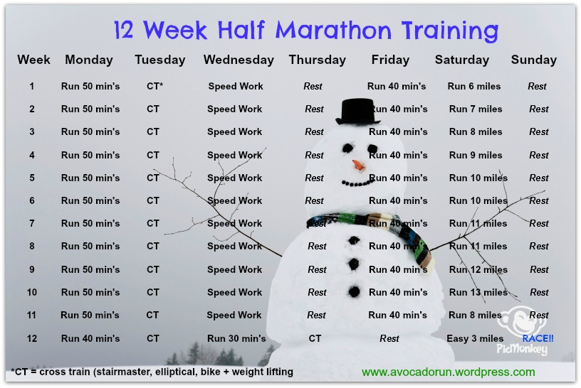 8 week marathon training plan pdf