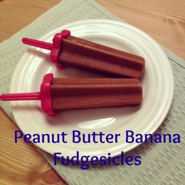 peanut butter banana fudgesicle