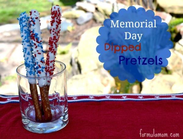 MemorialDayDessertsDippedPretzels