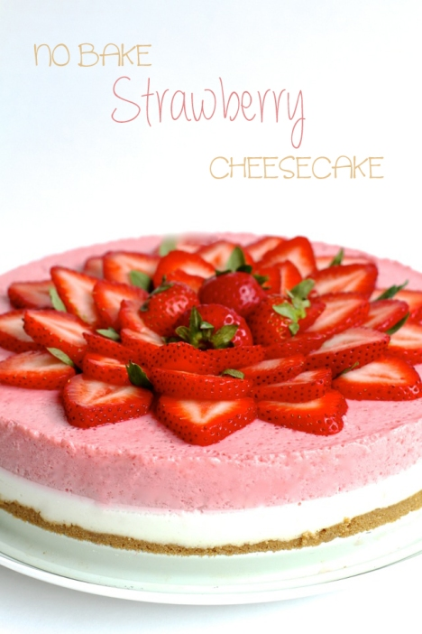No-Bake-Strawberry-Cheesecake21