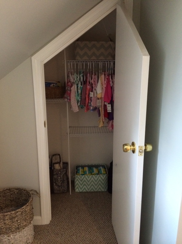 the nursery closet