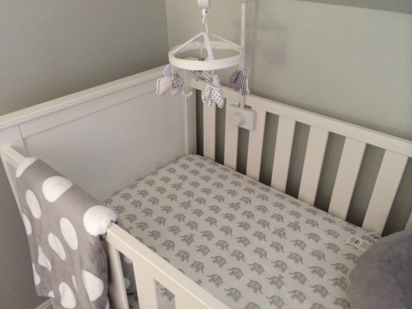 elephant crib sheets