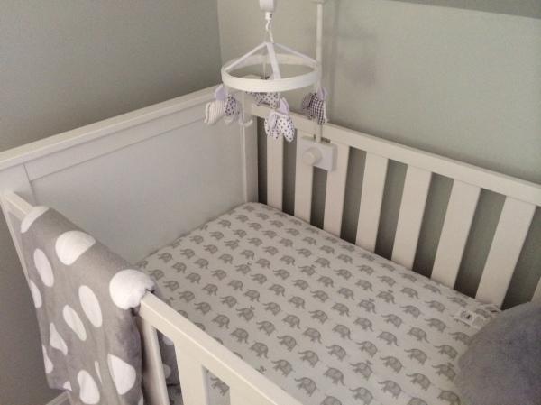 elephant crib sheets